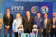 ช่อง 3 คว้าสิทธิ์การถ่ายทอดสด FIVB Volleyball ปี 2017-2020 เอาใจแฟนๆ วอลเลย์บอลให้ชมกันอย่างจุใจ