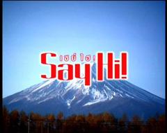 Say Hi วันที่ 16 มกราคม 2554