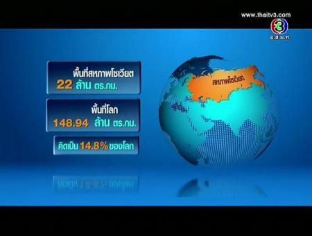 ดูละครย้อนหลัง รัสเซีย ตลาดใหม่  อนาคตใหม่ของไทย