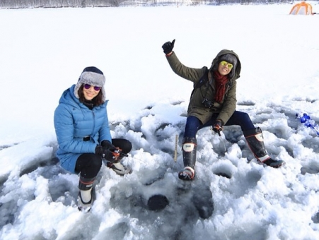 ดูรายการย้อนหลัง หิมะที่ฟาร์มโคอิวาอิจะเรียกว่า snow power เพราะลักษณะที่ขาวเเละนุ่มเหมือนเเป้ง