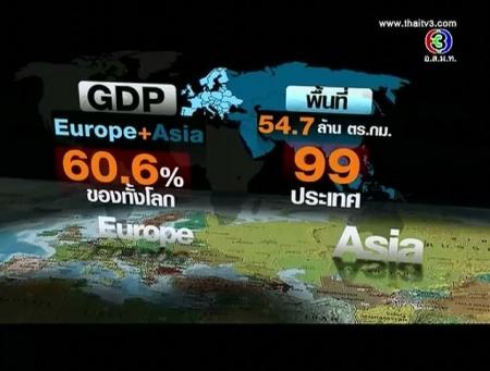 ดูละครย้อนหลัง มองความสัมพันธ์เอเชียกับยุโรป