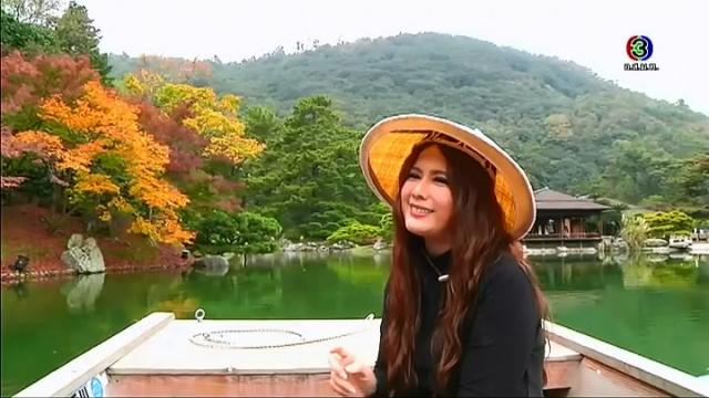 ดูละครย้อนหลัง เซย์ไฮ (Say Hi) | @Kagawa, Movie Village, Ritsurin Garden, Kankakei Gorge