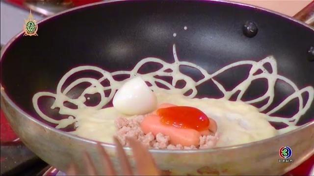 ดูละครย้อนหลัง ครัวคุณต๋อย | วิธีทำขนมโตเกียว