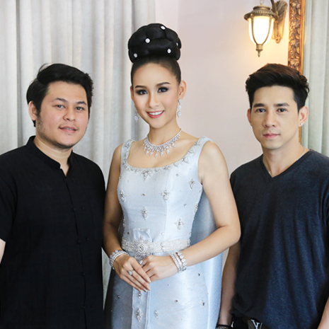 แกลเลอรีช่อง3 แก้ม  ชัญญา โชว์ชุดไทยประจำชาติ ก่อนสวมขึ้นเวทีมิสไชนีสฯ 2017