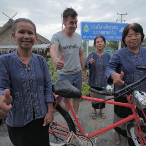 แกลเลอรีช่อง3 ปั่นจักรยาน 100 ปี สัมผัสวิถีชีวิตชาวอู่ทอง บนเส้นทางสายพิเศษ อพท.
