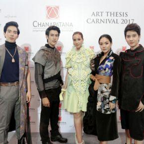 แกลเลอรีช่อง3 ทีมนักแสดงช่อง 3 ร่วมเดินแบบงาน CIDI Art Thesis Carnival 2017