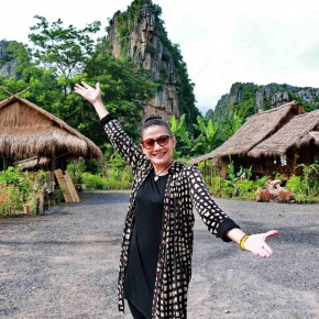 แกลเลอรีช่อง3 ตอน :: ผจญภัยแบบ Slow life หาแผนที่ประเทศไทยที่เนินมะปราง