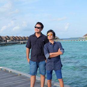 """แกลเลอรีช่อง3 จ๊อบ - เคนโด้ พาคุณออกโคจร ดำดิ่งสู่ท้องทะเลลึก เกาะสวรรค์ของนักเดินทาง """"มัลดีฟส์"""""""