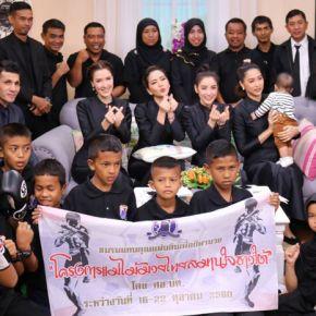 แกลเลอรีช่อง3 ครอบครัวข่าวภาคเช้า ต้อนรับคณะเยาวชน โครงการแม่ไม้มวยไทยสมานใจชาวใต้