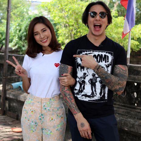 """แกลเลอรีช่อง3 """"แทค ภรัณยู"""" - """"ปาย สิตางศุ์"""" กลั้นใจหนัก หวั่นนิสัยส่วนตัว ทำงานพัง!!!   ในรายการ """"ตลาดเด็ดประเทศไทย"""""""