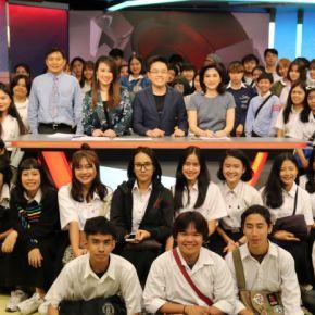 แกลเลอรีช่อง3 เป็นข่าวเช้านี้ สนับสนุนนักศึกษาจาก มทร.กรุงเทพ เยี่ยมชมบรรยากาศการผลิตรายการ
