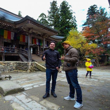 แกลเลอรีช่อง3 จ๊อบ และอเล็กซ์ ชวนคุณออกโคจรสัมผัสประเทศญี่ปุ่น ในแบบฉบับ สมุดโคจร On The Way