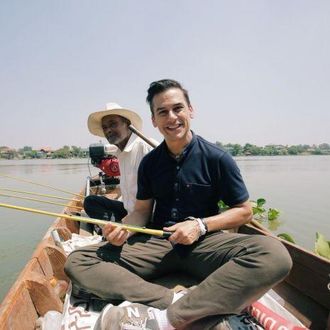 """แกลเลอรีช่อง3 """"แดเนียล"""" หลงรักชุมชนเกาะเกิด สัมผัสวิถีริมแม่น้ำเจ้าพระยา ในรายการหลงรักยิ้ม"""