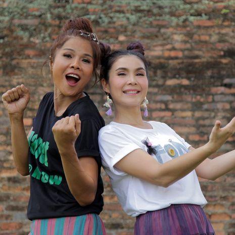 """แกลเลอรีช่อง3 """"ฝน ธนสุนทร"""" จับมือ """"เจเน็ต เขียว"""" พาค้นประวัติศาสตร์ บุกเมืองเก่า 700 ปี  ณ จังหวัดสุโขทัย ใน """"ตลาดเด็ดประเทศไทย"""""""