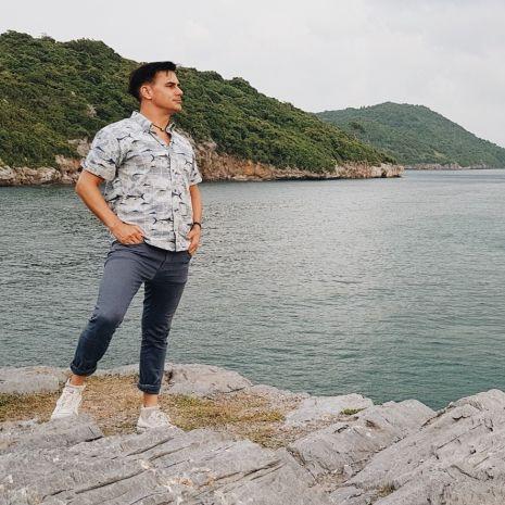 """แกลเลอรีช่อง3 ฝรั่ง """"แดเนียล"""" หลงรักเกาะสีชัง เที่ยวง่ายใกล้กรุง"""