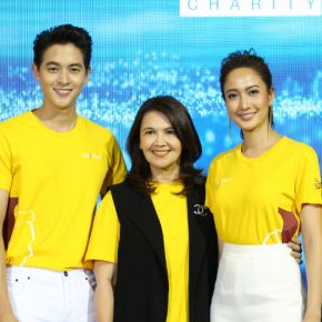 แกลเลอรีช่อง3 เจมส์จิ-แต้ว ยกทีมนักแสดง เกมเสน่หา ในงาน ช่อง 3 ชวนธรรมบุญ : เกมเสน่หา Charity