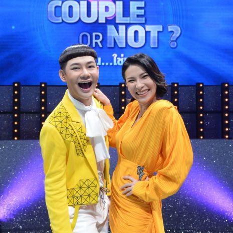 """แกลเลอรีช่อง3 ช่อง 33 ส่งรายการใหม่ """"Couple or Not? คู่ไหน…ใช่เลย""""  นุ้ย - ต้นหอม แท็กทีม!!  เกมจับคู่สืบหาคู่รักตัวจริง!!"""