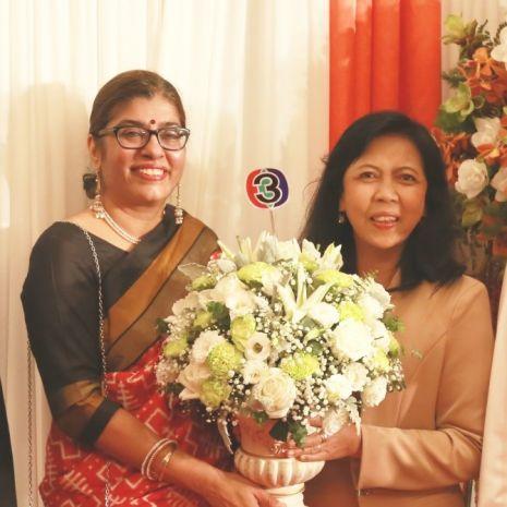 แกลเลอรีช่อง3 ตัวแทนช่อง 3 ร่วมงานฉลอง 73 ปี วันประกาศเอกราชประเทศอินเดีย ประจำปี 2562