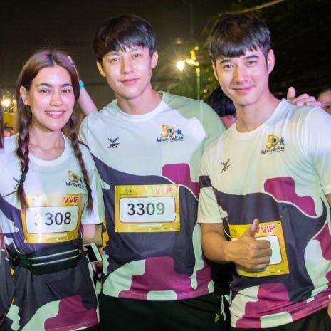 แกลเลอรีช่อง3 หมาก - คิม – มาริโอ้ พร้อมทัพนักแสดง บุกจันทบุรี ประเดิมงาน 50 ปี ch3 charity infinity run