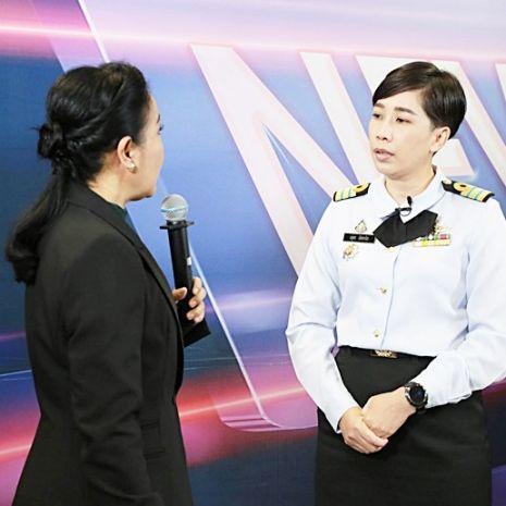 แกลเลอรีช่อง3 เทคนิคการให้สัมภาษณ์สำหรับผู้บริหารของกองทัพเรือ