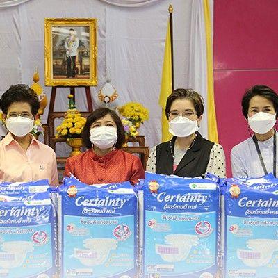 แกลเลอรีช่อง3 ช่อง 3 ร่วมกิจกรรมพันธมิตร สานต่อฉีดวัคซีนกลุ่มเด็กพิเศษ บ้านราชาวดี