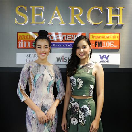 มิ้นท์ - แก้ม ตัวแทนสาวไทยไปประกวดมิสไชนีสฯ 2016 และ2017 ร่วมพูดคุยในรายการ F3 Radio เนื่องในเทศกาลตรุษจีน
