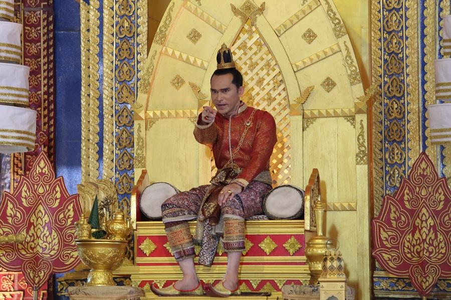 ผลการค้นหารูปภาพสำหรับ สมเด็จพระนารายณ์มหาราช ในละครรับบทโดย ปราปต์ปฏล สุวรรณบาง