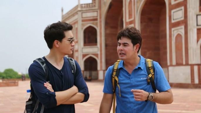 ดูละครย้อนหลัง สมุดโคจร On The Way | อินเดีย ตอนที่ 2 | 10-09-59