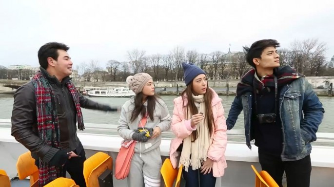 ดูละครย้อนหลัง สมุดโคจร On The Way | ปารีส ตอนที่ 2 | 28-05-59
