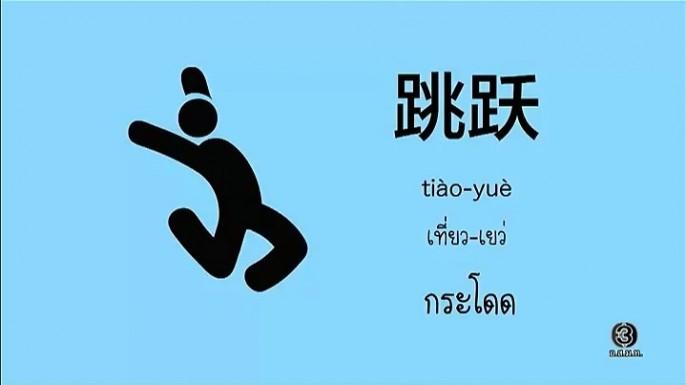 ดูรายการย้อนหลัง โต๊ะจีน Around the World|คำว่า(เที่ยว-เหย่)กระโดด
