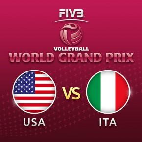 รายการย้อนหลัง Highlight วอลเลย์บอล World Grand Prix 2017 | 20-07-60 | สหรัฐอเมริกา นำ อิตาลี เซตที่ 2