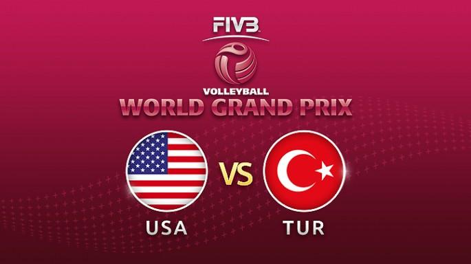 ดูละครย้อนหลัง วอลเลย์บอล World Grand Prix 2017 | 14-07-60 | สหรัฐฯ-ตุรกี เซตที่ 2 ตุรกีตีเสมอสหรัฐฯ