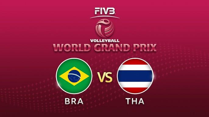 ดูละครย้อนหลัง วอลเลย์บอล World Grand Prix 2017 | 15-07-60 | ไทย ชนะ บราซิล 3 ต่อ 0 เซต
