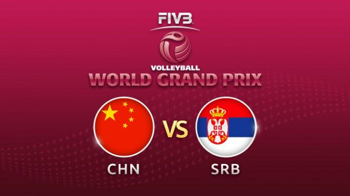 ดูละครย้อนหลัง วอลเลย์บอล World Grand Prix 2017 | 23-07-60 | จีน พลิกกลับมาชนะ เซอร์เบีย เซต ที่ 3