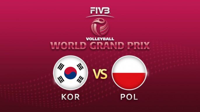 ดูละครย้อนหลัง วอลเลย์บอล World Grand Prix 2017 | 23-07-60 | เกาหลีใต้ พบ โปแลนด์ เซตที่ 1
