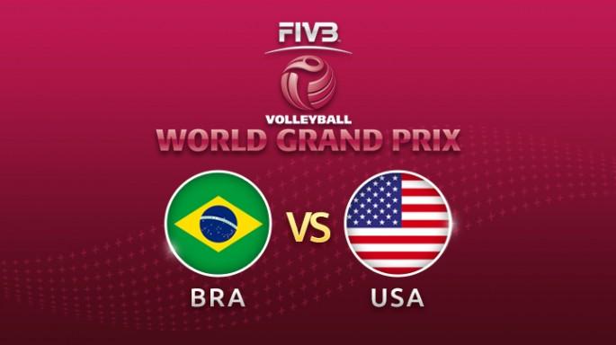ดูละครย้อนหลัง วอลเลย์บอล World Grand Prix 2017 | 23-07-60 | สหรัฐอเมริกา ชนะ บราซิล เซตที่ 3