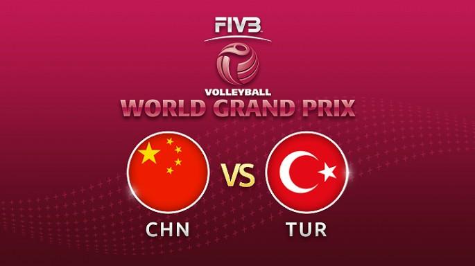 ดูละครย้อนหลัง วอลเลย์บอล World Grand Prix 2017 | 15-07-60 | จีน พลาดท่า โดนตุรกีขึ้นนำ เซตที่ 2