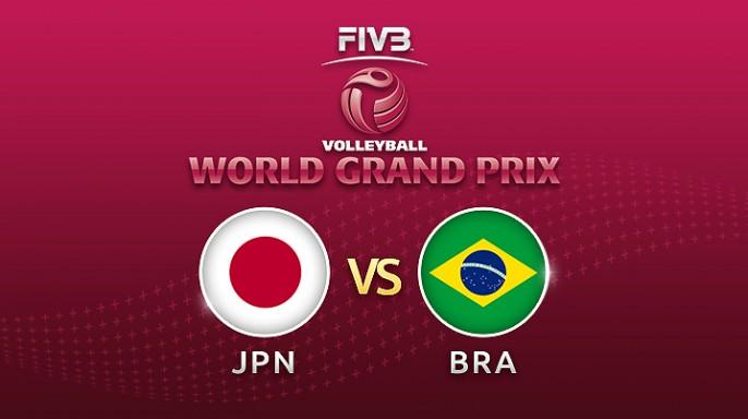 ดูละครย้อนหลัง วอลเลย์บอล World Grand Prix 2017 | 16-07-60 | ญี่ปุ่น โดน บราซิล ตีตื้นขึ้นมา อยู่ 2-1 เซตที่ 3