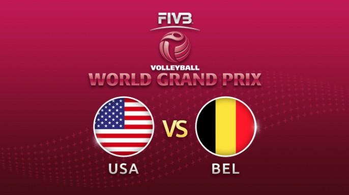 ดูละครย้อนหลัง วอลเลย์บอล World Grand Prix 2017 | 21-07-60 | สหรัฐอเมริกา กลับมานำ เบลเยียม เซตที่ 3