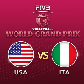 รายการย้อนหลัง วอลเลย์บอล World Grand Prix 2017 | 20-07-60 | อิตาลี พลิกกลับมาชนะ สหรัฐอเมริกา 3 ต่อ 2 เซต เซตที่ 5 (จบ)