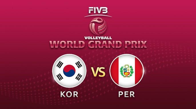 ดูละครย้อนหลัง วอลเลย์บอล World Grand Prix 2017 | 15-07-60 | เกาหลีใต้ นำ เปรู อยู่ 2-0 เซต