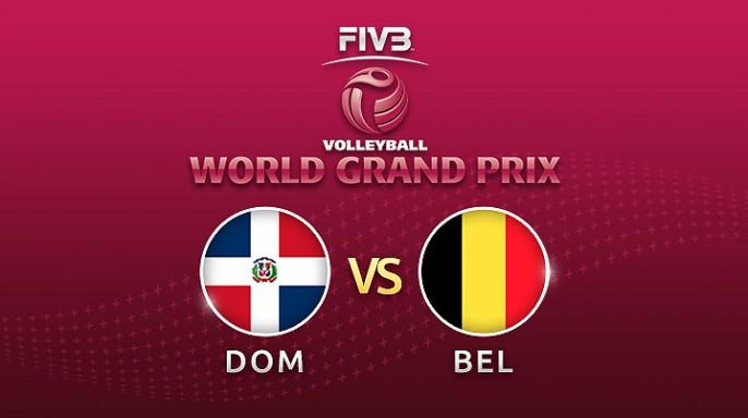 ดูละครย้อนหลัง วอลเลย์บอล World Grand Prix 2017 | 16-07-60 | โดมินิกัน ขึ้นนำ เบลเยี่ยม 2-1 เซตที่ 3