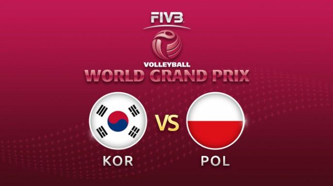 ดูละครย้อนหลัง Highlight วอลเลย์บอล World Grand Prix 2017 | 23-07-60 | เกาหลีใต้ พบ โปแลนด์ เซตที่ 1