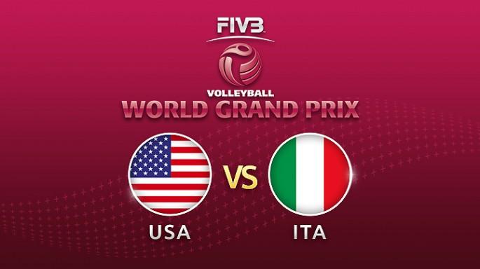 ดูละครย้อนหลัง วอลเลย์บอล World Grand Prix 2017 | 20-07-60 | สหรัฐอเมริกา พบ อิตาลี เซตที่ 1