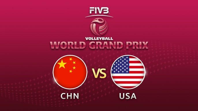 ดูละครย้อนหลัง วอลเลย์บอล World Grand Prix 2017 | 16-07-60 | จีน โดน สหรัฐอเมริกาตีเสมอ 2-2 เซตที่ 4