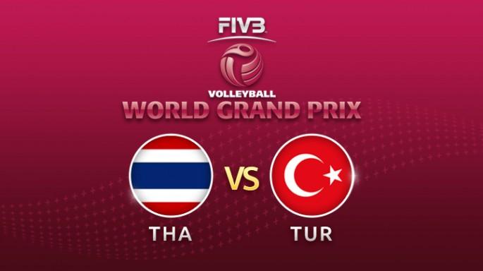 ดูละครย้อนหลัง วอลเลย์บอล World Grand Prix 2017 | 22-07-60 | ไทย ขึ้นนำ ตุรกี เซตที่ 2