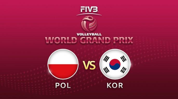 ดูละครย้อนหลัง วอลเลย์บอล World Grand Prix 2017 | 16-07-60 | โปแลนด์ พบ เกาหลีใต้ เซตที่ 1