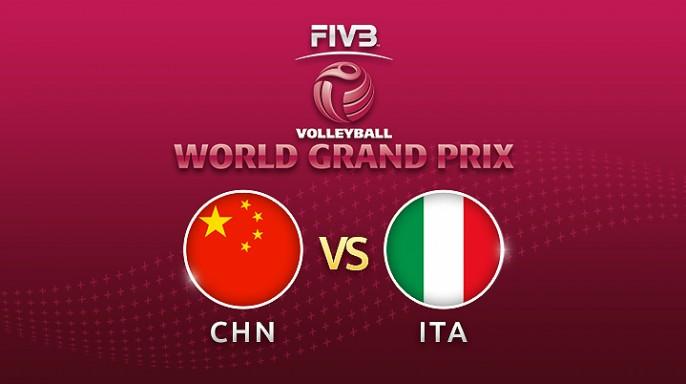 ดูละครย้อนหลัง วอลเลย์บอล World Grand Prix 2017 | 14-07-60 | อิตาลีนำจีน เซตที่ 2