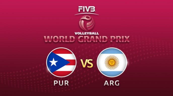 ดูละครย้อนหลัง วอลเลย์บอล World Grand Prix 2017 | 22-07-60 | อาร์เจนตินา พบ เปอร์โตริโก  เซตที่ 1