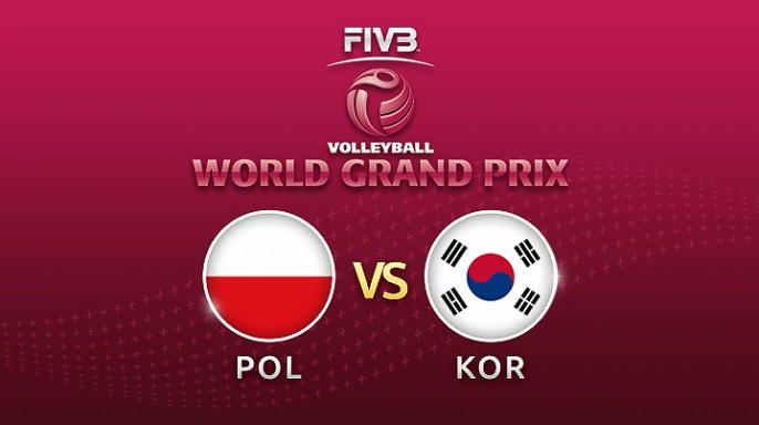 ดูละครย้อนหลัง วอลเลย์บอล World Grand Prix 2017 | 16-07-60 | เกาหลีใต้ตีเสมอโปแลนด์ เซตที่ 2